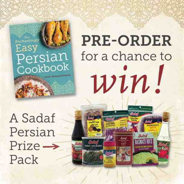 Persian Cookbook Pre-order