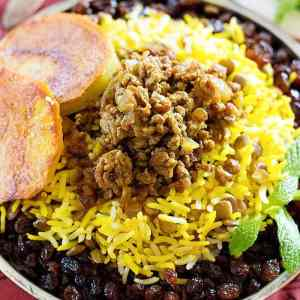 Adas Polo – Persian Lentil Rice