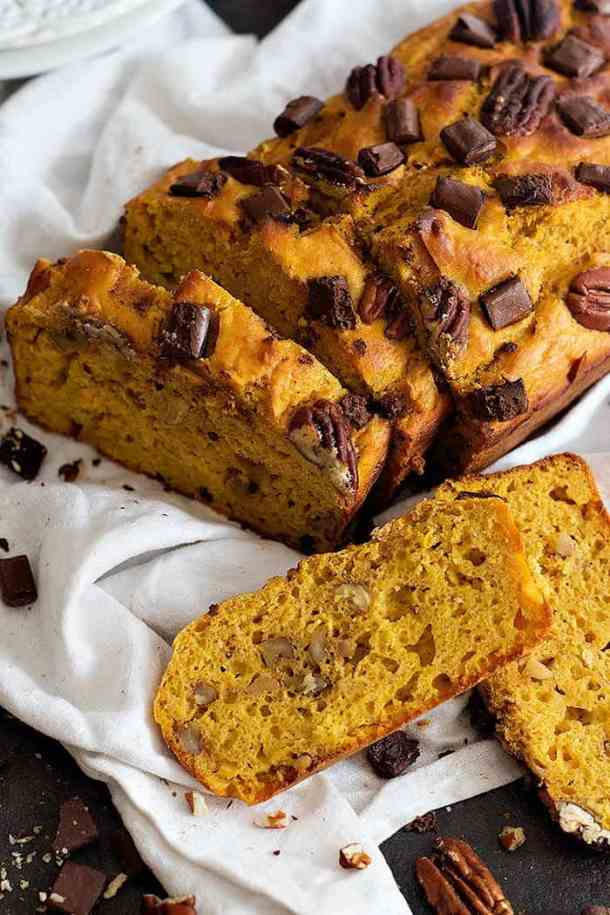 pumpkin banana bread recipe is a delicious homemade bread that's perfect for any day.