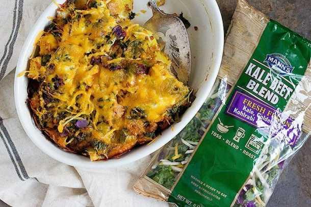 This is The Best Vegetable Strata Recipe ever. From unicornsinthekitchen.com #brunch #strata