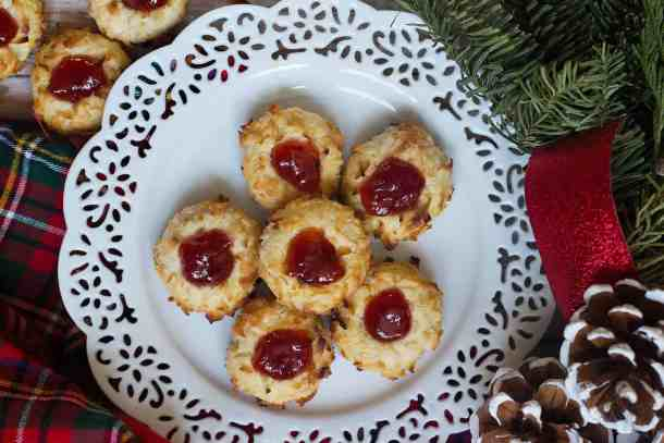 This thumbprint cookie recipe is easy and simple.