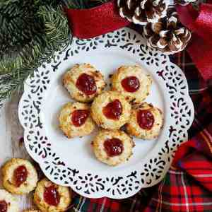 The Best Ever Thumbprint Cookies