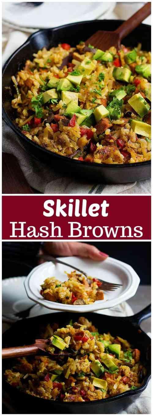 Skillet Hash Browns   Skillet Hash Browns Recipe   Skillet Hash Browns Breakfast   Hash Browns and Sausage   #HashBrowns #HashBrownsBreakfast