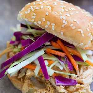 Asian Chicken Sliders Recipe