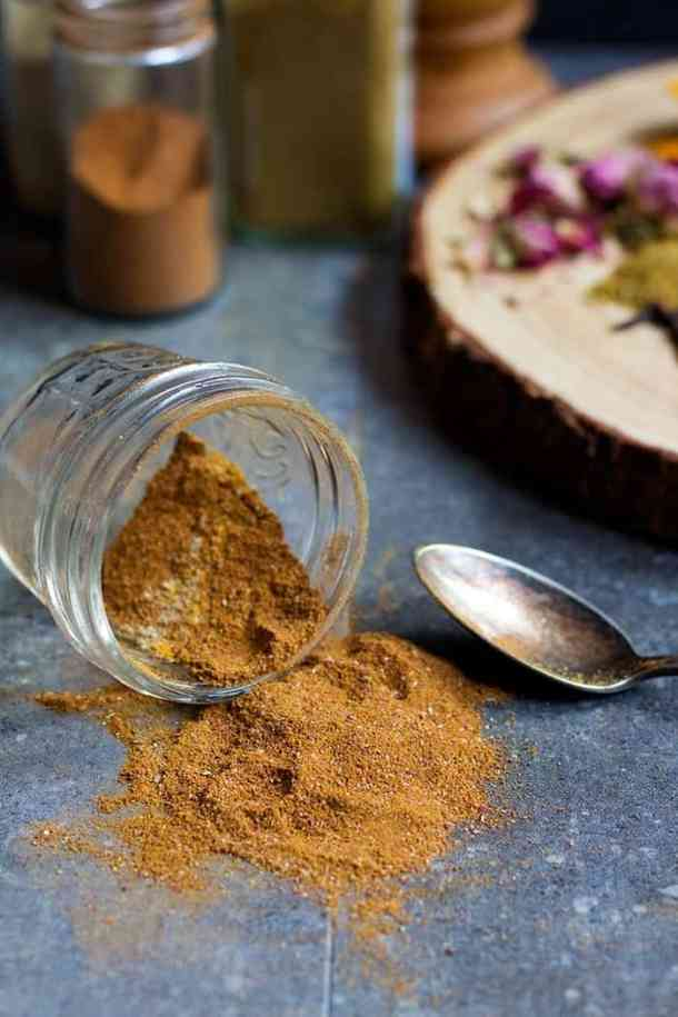 Persian spice mix or advieh is perfect for rice or meat dishes.