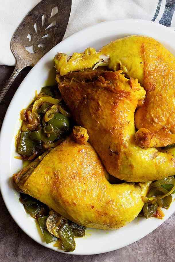 Persian Chicken with Saffron is a delicious dish full of amazing flavors.