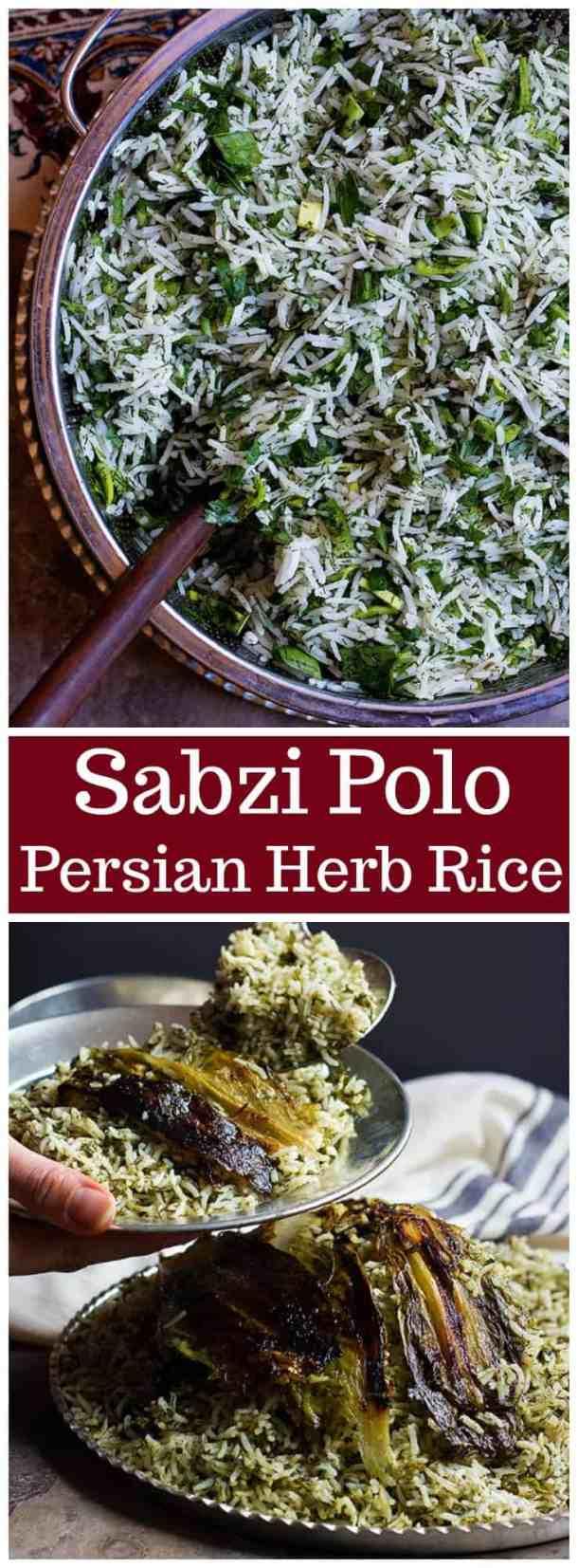 Sabzi polo persian herb rice unicorns in the kitchen sabzi polo sabzi polo recipe herb rice recipe herb rice persian rice forumfinder Images
