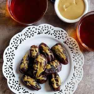 Chocolate Covered Stuffed Dates Recipe