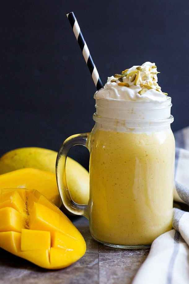 mango shake recipe is easy and delicious