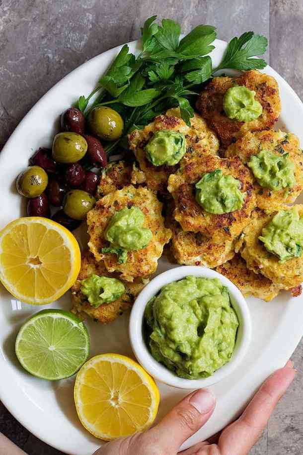 Shrimp cakes are easy and very delicious. Learn how to make these tasty shrimp patties using fresh ingredients and serve with a zesty avocado dipping sauce for maximum flavor.