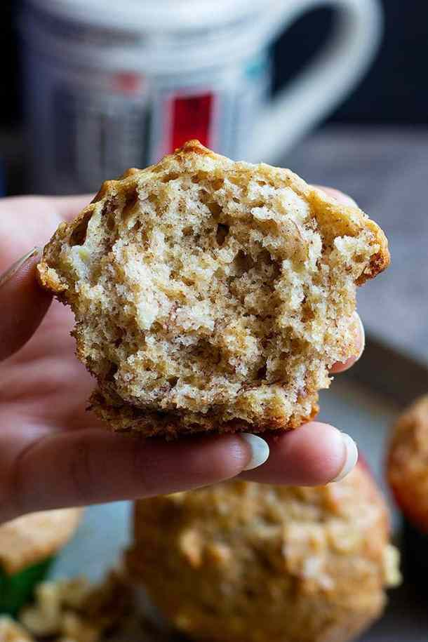 Banana bread muffins are everyone's favorite. These easy banana bread muffins are perfect as breakfast or midday snack.