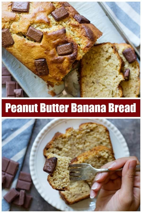 Peanut butter banana bread is a simple banana bread recipe that everyone loves. This moist banana bread with peanut butter is super simple and delicious.#Bananabread #peanutbutter #bananabreadrecipe #easybananabread #simplebananabread