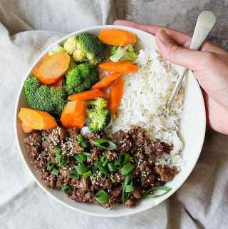 Korean Beef Bowl Recipe