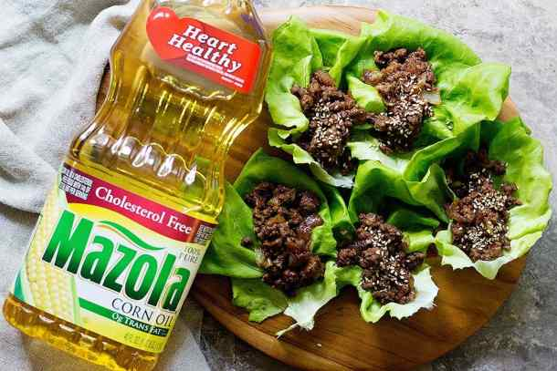 These Korean beef lettuce wraps are great as appetizers or main dishes.