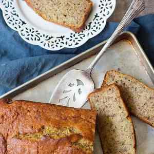 Easy Moist Zucchini Banana Bread Recipe