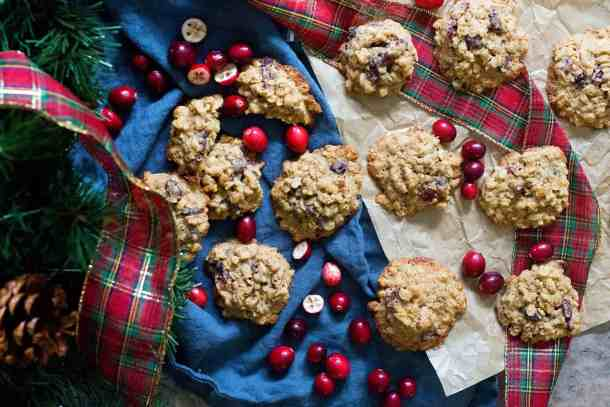 You can freeze these oatmeal walnut cranberry cookies.