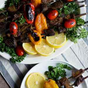 Best Ever Beef Shish Kabob (Grill and Oven) [Video]