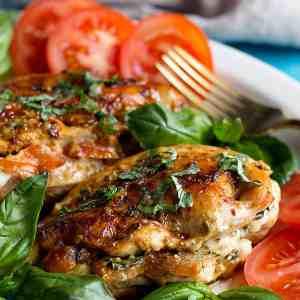 Caprese Stuffed Chicken Breast Recipe