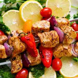 Mediterranean Chicken Shish Kabob Recipe [Video]