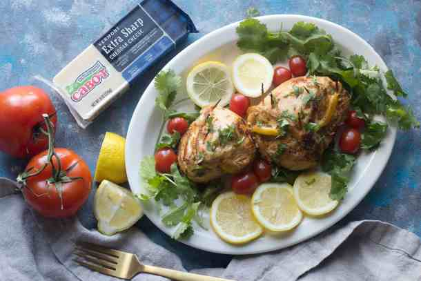stuffed chicken breast is perfect for a family dinner. Stuffed with cheese, these are so good!
