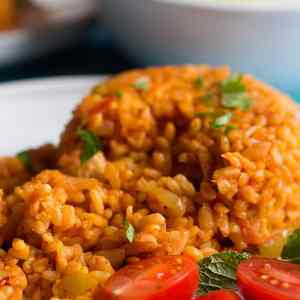 Turkish Bulgur Pilaf Recipe
