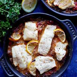 Turkish Baked Cod Recipe