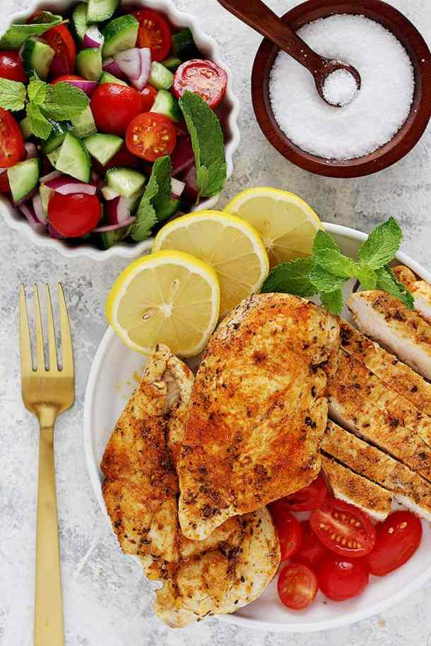 instant pot chicken breast recipe is easy and give you tender chicken breast every time.