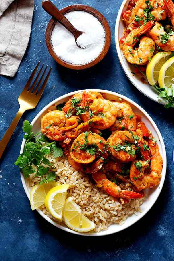 Sauteed shrimp recipe is easy and simple. You can make this recipe in 20 minutes.