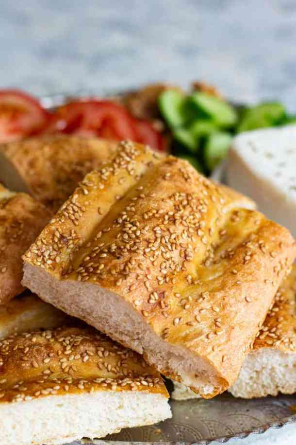 nan barbari is a classic Persian bread that you can make at home.