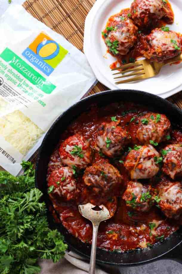 These Italian beef meatballs are so easy to make. They are juicy and very flavorful.
