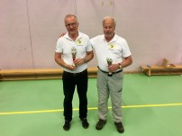 3:e pris: Frank Svensson & Urban Lidrot - Överlida IK