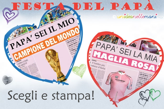 Biglietti Auguri Festa Del Papà Le Finte Prime Pagine Di
