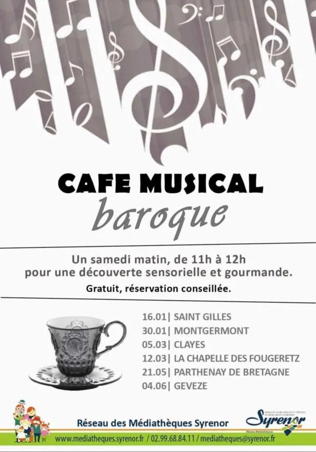 Café musical baroque Parthenay-de-Bretagne