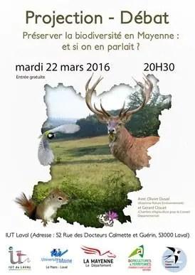 Préserver la biodiversité en Mayenne : et si on en parlait ? Laval