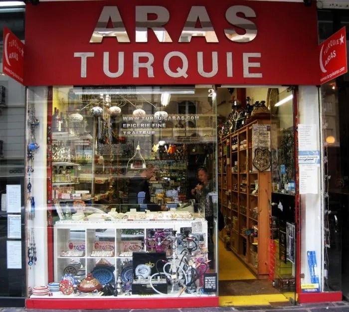 Le Magasin Aras Turquie L Orient Au Cœur De Rennes