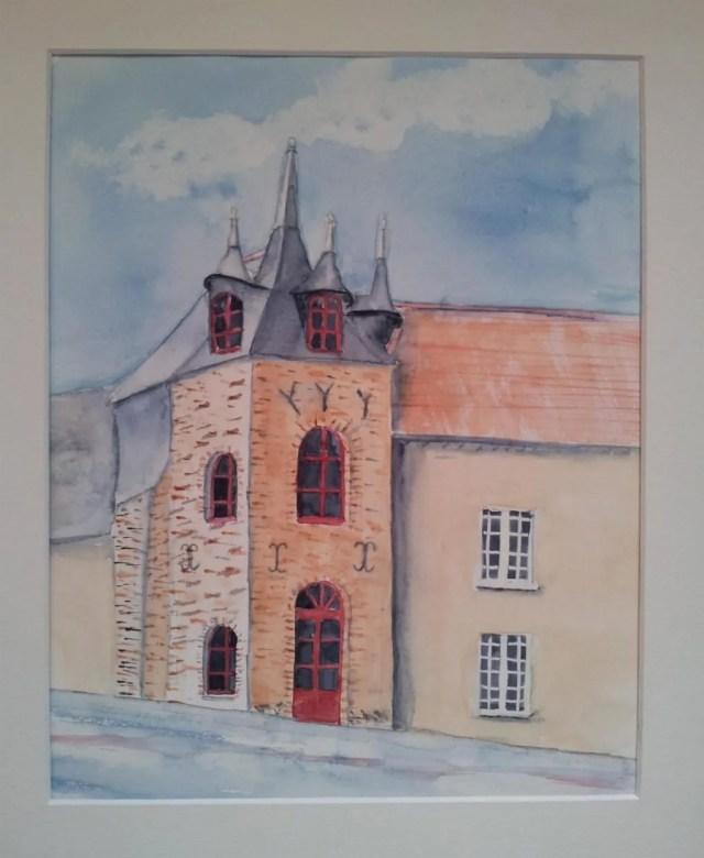 Cours d'aquarelle Noyal-sur-Vilaine