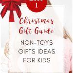 Christmas non-toys gifts ideas