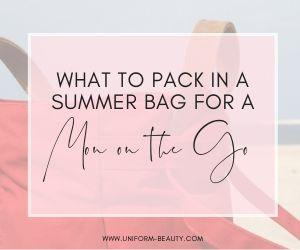 Summer Bag Beach Bag Pool Bag