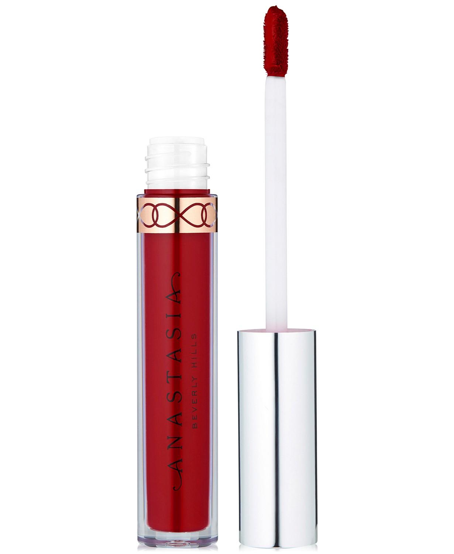 Red Lipstick, International Lipstick Day, Beauty, Makeup, anastasia beverly hills, matte lipstick, liquid matter lipstick