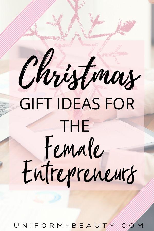 Gift Ideas For The Female Entrepreneurs