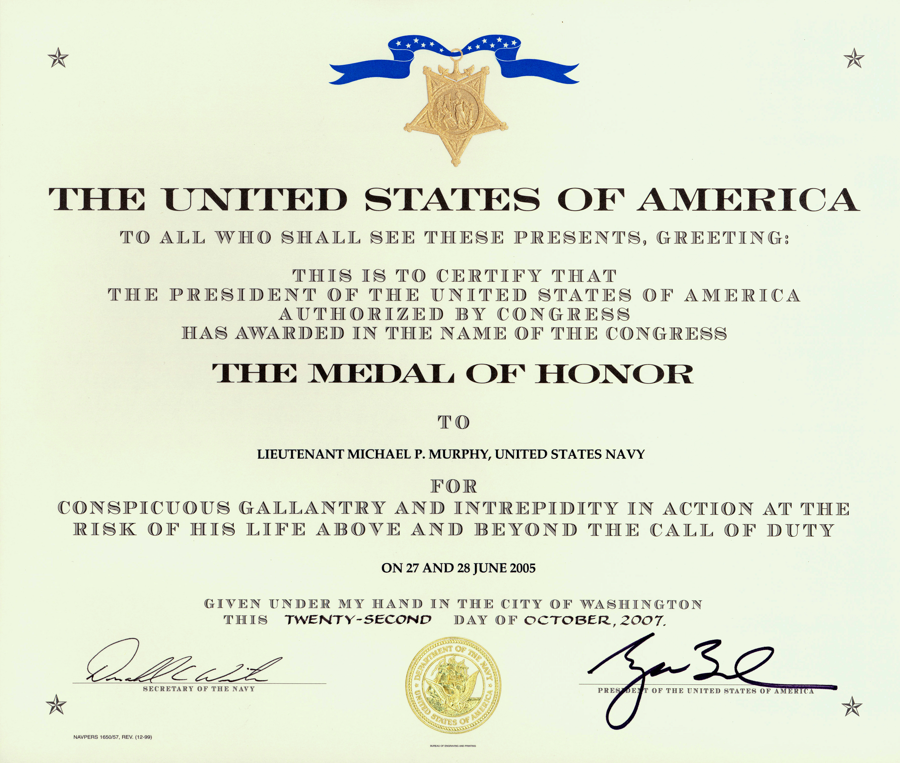 Blank Military Certificates Templates