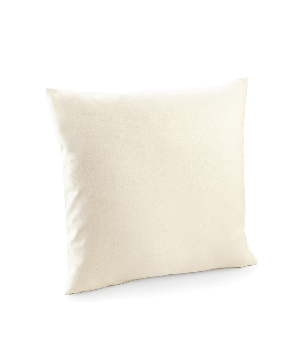 westford mill westford mill fairtrade cotton canvas cushion cover