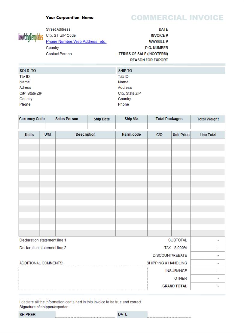 Doc7441189 Invoice Template Australia Australian GST Invoice – Free Invoice Template Australia
