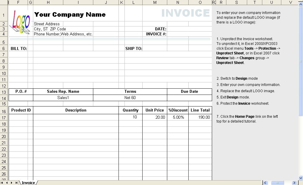 pin freight invoice template on pinterest