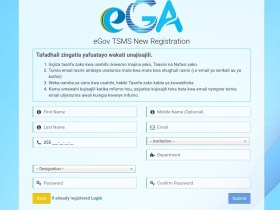 eGov TMS Login | eGov TMS Registration | Training Management System and Seminar