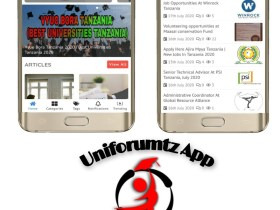 Download Uniforumtz App Best Job And Education News