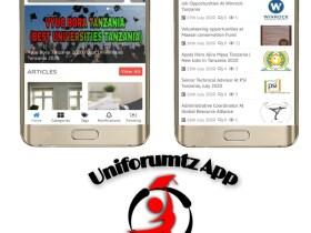 Download Uniforumtz App Best Job And Education News