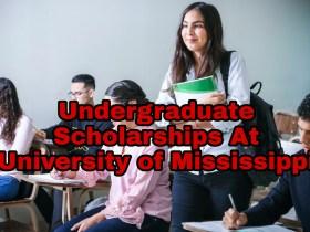 Undergraduate Scholarships At University of Mississippi