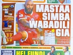 Tanzania Newspaper Today 20th October, 2020