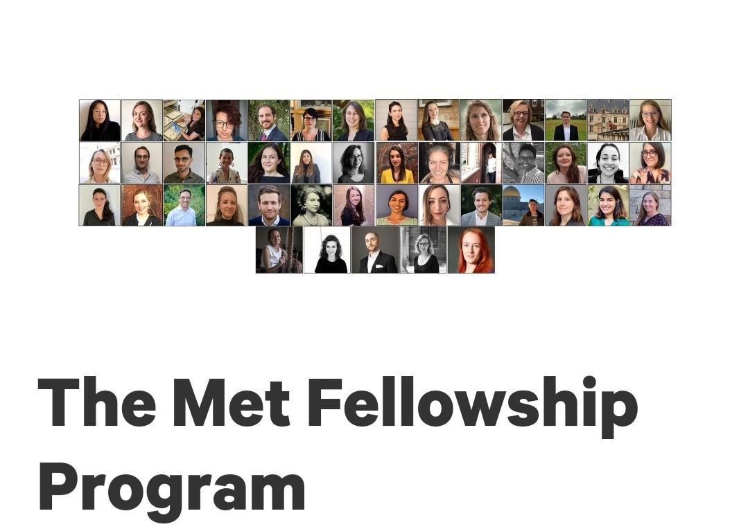 Met Fellowship program 2021/2022